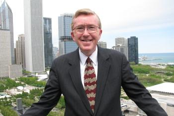 Ed Gordon smiling